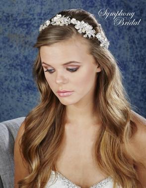 Symphony Bridal Hair Wrap - HW635
