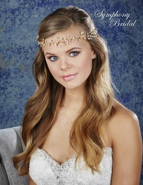 Symphony Bridal Hair Wrap - HW636
