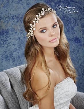 Symphony Bridal Hair Wrap - HW638