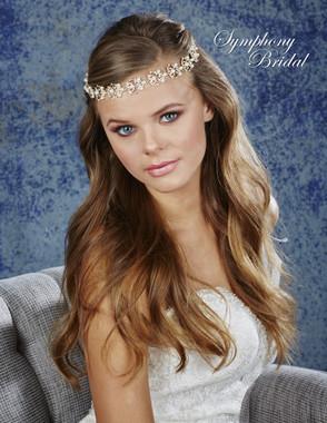 Symphony Bridal Hair Wrap - HW639