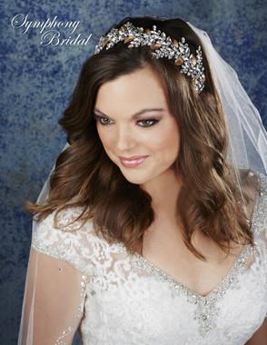 Symphony Bridal Hair Crown - 7904CR