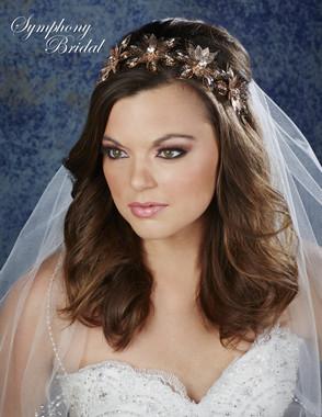 Symphony Bridal Hair Crown - 7905CR