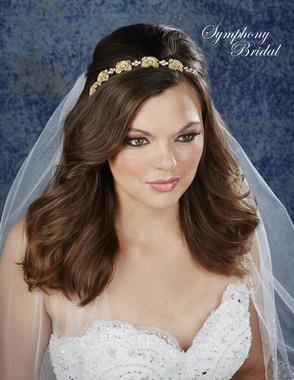 Symphony Bridal Hair Crown - 7915CR