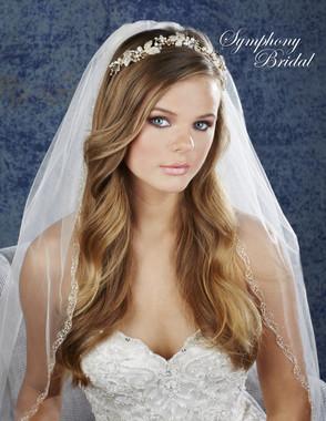 Symphony Bridal Hair Crown - 7918CR