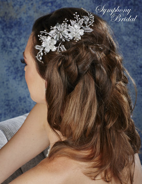 Symphony Bridal Hair Comb - CB1725
