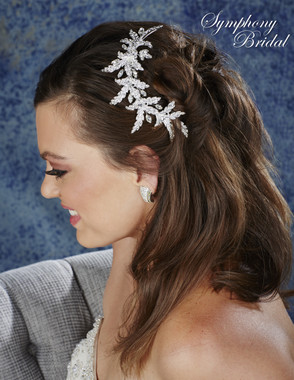 Symphony Bridal Hair Comb - CB1728