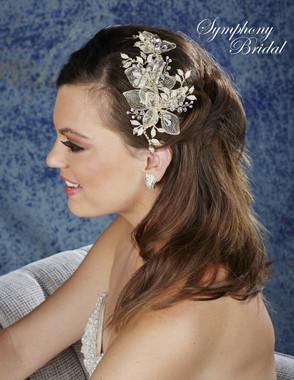 Symphony Bridal Hair Comb - CB1730