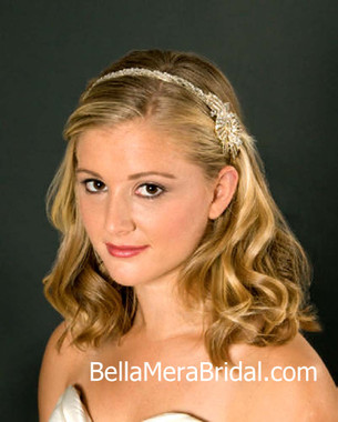 Giselle Bridals Headpiece H125G(SI)
