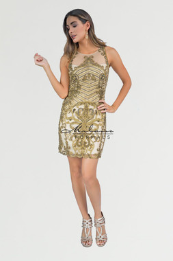 Milano Formals E2276 -  Special Occasion Dress