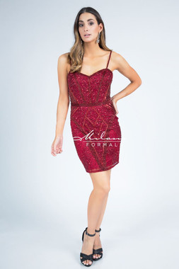 Milano Formals E2257 -  Special Occasion Dress