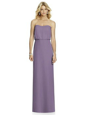 After Six Dress Style 6761 - Lavender - Lux Chiffon - In Stock Dress