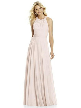 After Six Dress Style 6760 - Blush - Lux Chiffon - In Stock Dress