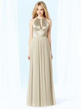 After Six Dress Style 6705 - Palomino - Lux Chiffon - In Stock Dress