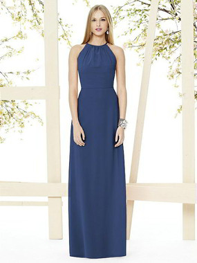 Social Bridesmaids Dress Style 8151 - Matte Chiffon - Sailor- In Stock Dress