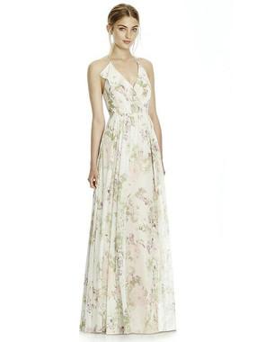 Jenny Yoo Dress Style JY534 - Lux Chiffon -  Blush Garden - In Stock Dress
