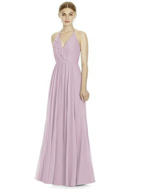 Jenny Yoo Dress Style JY534 - Lux Chiffon -  Suede Rose - In Stock Dress