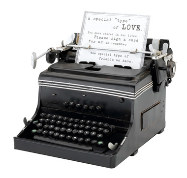1945 Mini Typewriter Replica - GA508