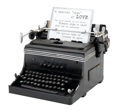 1945 Mini Typewriter Replica - GA508