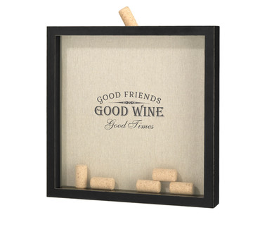 """Good Friends, Good Times"" Cork Frame - GA566 G"