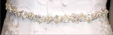 Noelle & Ava Collection - vines and leaves design of crystals - 17