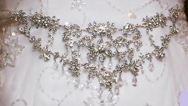 Noelle & Ava Collection - Original design of rhinestone & crystals Headband/Jewelry /Belt - 34