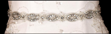 Noelle & Ava Collection - Hand sewn crystals, teardrop rhinestones, round rhinestones, pearl, beads, bugle beads, sequins - 27