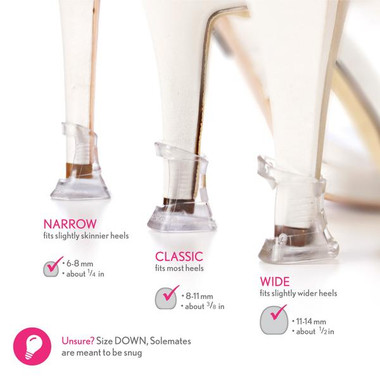SoleMates High Heel Clear Savers - BUNDLE - 3 Pack
