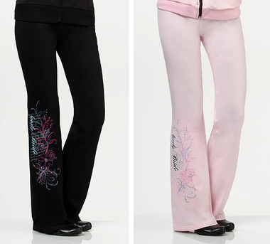 Bride Pants by Lillian Rose - Pink or Black -BW631 LB