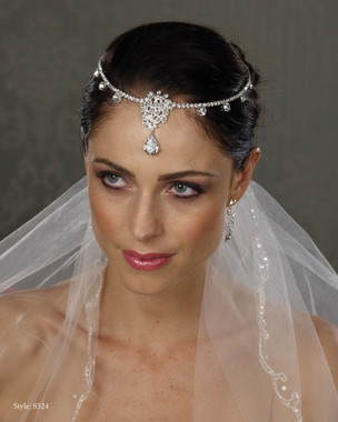 Marionat Bridal Headpieces 8324- Available to ship next day