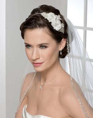 Bel Aire Bridal Accessory  6227 Beaded Headband