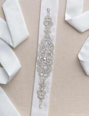 Bel Aire Bridal Belt BT010 - Elegant Design Belt
