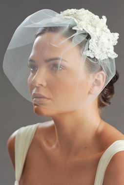 Erica Koesler Veils- Style 813-10 (Tulle Blusher)