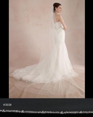 Marionat Bridal Veils 3028 - The Bridal Veil Company