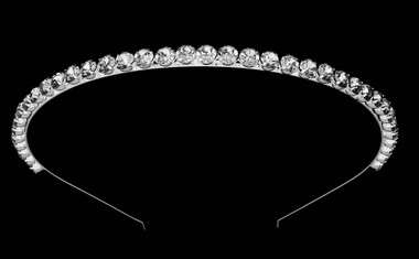 Noelle & Ava - Brilliant Rhinestone Head Band With Simplicity In Style And Timeless Beauty