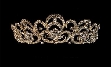 Noelle & Ava - Royal Design Rhinestone Tiara