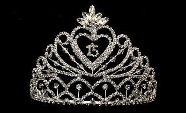 Noelle & Ava - Rhinestone Quinceanera 15 Crown