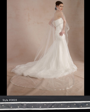 Marionat Bridal Cathedral Veils 3025 -  The Bridal Veil Company