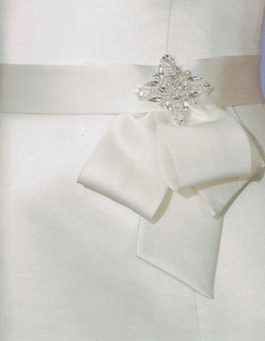 Bel Aire Bridal Wedding Belt BT011