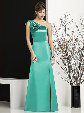 After Six Bridesmaids Style 6674 by Dessy - Matte Satin