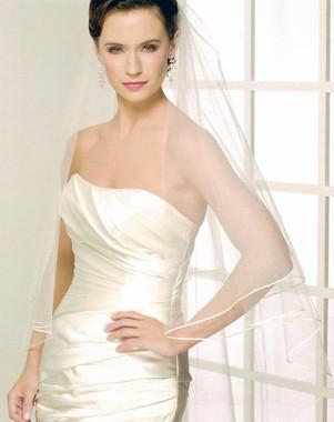Bel Aire Bridal Veils V7121 - Knee Length Veil