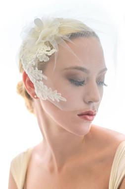 Erica Koesler Wedding Veil 829 - Tulle Blusher