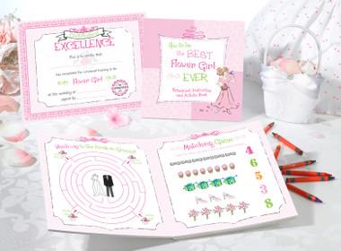 BK654 FG    Flower Girl Activity Book