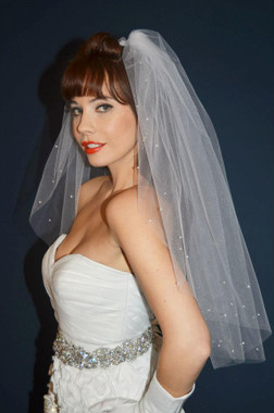 Ansonia Bridal Veil Style 433 - One Tier - Elbow Length - Fall 2013
