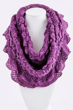 Special Occasion Solid Color Infinity Scarf