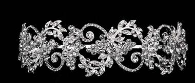 Noelle & Ava - Luxurious Rhinestone Tiara Headband