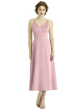 After Six Bridesmaid style 1501 -  Renaissance Satin - Curated By Wedding Chicks