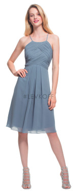 #LEVKOFF - Bill Levkoff Bridesmaid Dress Style 7015 - Chiffon