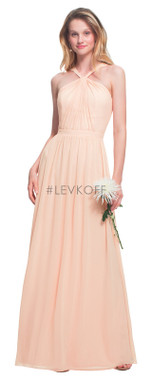 #LEVKOFF - Bill Levkoff Bridesmaid Dress Style 7025 - Chiffon