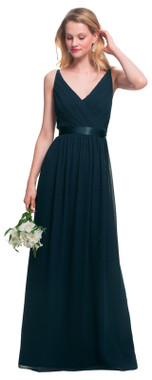 #LEVKOFF - Bill Levkoff Bridesmaid Dress Style 7026 - Charmeuse & Chiffon