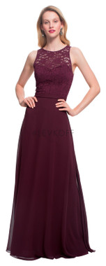 #LEVKOFF - Bill Levkoff Bridesmaid Dress Style 7027 - Chiffon and Lace